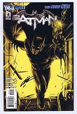 Batman #4 Variant Signed w/COA Cover Artist Mike Choi VF/NM 2011 DC Comics