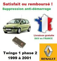 Kit démarrage boitier réparation antidémarrage Renault Twingo 1 phase 2