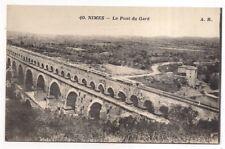 nimes , le pont du gard - - - -