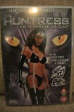 THE HUNTRESS Her Name Is Cat DVD Almen Wong Ben Lam Region 2 Michael Action Film