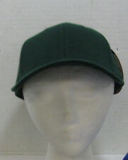Men's Green Superflex Adjustable Fitted Cap by Headmaster Inc Med Baseball Hat
