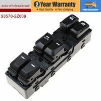 Front Left  Master Power Window Control Switch 93570-2Z000 For Hyundai IX35 New