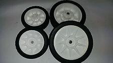 4 Lawnboy Lawn Boy Lawnmower Mower Push  Wheels Tires 684777 / 684776 OEM