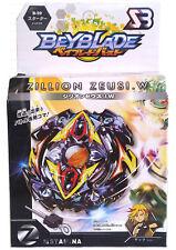 ☆ TOUPIE  BEYBLADE  BURST Zillion Zeus / Zeutron + lanceur  & Grip B-59   4