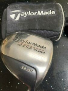 Taylormade 200 steel driver with original head cover