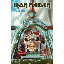 More details for official licensed - iron maiden - aces high textile poster flag metal