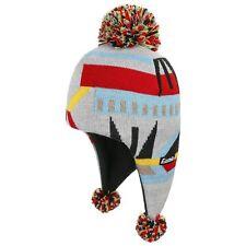 Eisbär Multicolour Bommelmütze Inkamütze Skimütze Strickmütze Wintermütze
