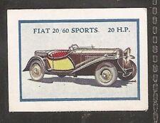 THOMSON-MOTOR CARS (K100 SIZE)- FIAT 20/60 SPORTS