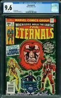 Eternals 5 CGC 9.6 - White Pages Movie 1st app Makarri, Domo, Zuras, and Thena