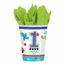 All Aboard Party 1st Birthday Baby Party Tableware Decorations Balloons