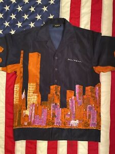 All Over Print Las Vegas Hawaii Shirt Men Size M  By Jaws