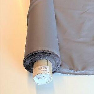 Taschenfutter f Innentaschen 100%Baumwolle  Breite:150m grau