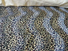 5mts CHEETAH ANIMAL PRINT VELBOA FUR FABRIC
