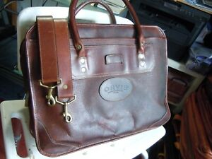 Vintage Orvis Leather Orvis/Gokey Briefcase Made in USA   5