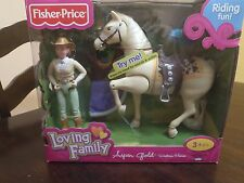 "LOVING FAMILY ""ASPEN GOLD'' WESTERN HORSE BY FISHER PRICE WITH SOUND & ACTION."