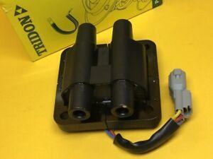 Ignition coil for Subaru GC GF IMPREZA 1.8L 93-96 EJ18E Tridon 2 Yr Wty