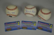 600 Homerun Club Willie Mays Barry Bonds Hank Aaron Autograph Baseball Authentic