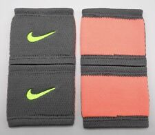 Nike Dri-Fit Stealth Wristbands Tennis Cool Grey/Bright Mango/ Mens Women's