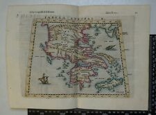 1574 - Ruscelli /Ziletti Map - Tabula Europae X - Greece, Crete & Greek Islands