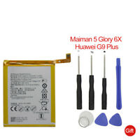 Replacement Phone Battery HB386483ECW+ For Huawei Honor 6X Maimang 5 MLA 3340mAh
