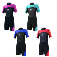 Legacy 3/2mm Childs Kids Junior Teenage Shortie Wetsuit Short Wet Suit Age 4-16
