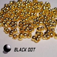 Quetschperlen ca. 200 Stück 2mm Goldfarbe Quetschkugeln Crimps Quetschkalotten