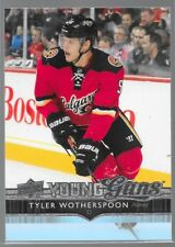 14/15 Upper Deck Young Guns Rookie RC Tyler Wotherspoon 210 Flames