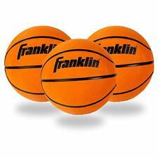 Franklin Sports Soft Indoor Mini Foam Basketballs - 3 Pack - Slam Dunk Approv...