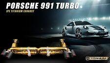 PORSCHE 991 TURBO / TURBO S iPE Innotech Performance Exhaust System Titanium