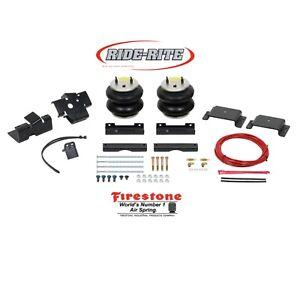 Firestone 2598 Ride Rite Rear Air Bags for 14-21 Dodge Ram 2500 wCoil Spring