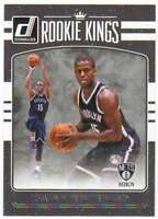 2016-17 Donruss Basketball Rookie Kings RC Insert #26 Isaiah Whitehead Nets