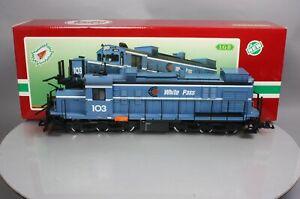LGB 21552 G Scale White Pass Diesel Locomotive with Sound - RARE! EX/Box