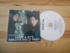CD Indie snake & Jet 's Aman. BULLIT Bande-introducin (1 chanson) promo homo Frog