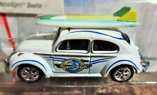 JOHNNY LIGHTNING 66 1966 VW VOLKSWAGEN BEETLE NEWPORT SURF RODS CAR W/SURFBOARDS