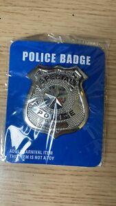 Police Badge Fancy Dress Prop