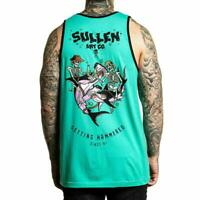Sullen Art Collective Getting Hammered Mens Tank Shark MMA UFC Tattoo Clothing