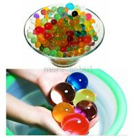 10000 Small + 30 Jumbo Multicolour Water Aqua Soil Bio Gel Beads Magic Balls UK
