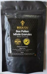 Bee Pollen Whole Granules for Allergies & Immune Support 5 oz   Clearanced!