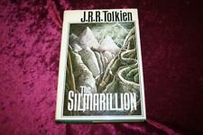 THE SILMARILLION J.R.R. TOLKIEN HARDCOVER WITH MAP, FIRST AMERICAN EDITION 1977