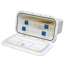 Innovative Boat Tackle Storage Box 530-035    8 x 14 Polar White
