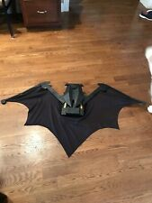 BATMAN Dark Knight Retractable Bat Wings Mega Cape COSPLAY Costume 4.5' Wingspan