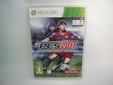XBOX 360 PES 2011 Pro Evolution Soccer