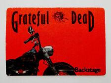 Grateful Dead Backstage Pass Harley Davidson Motorcycle Bike Chopper No Date