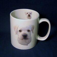 Carino Giallo Lab Labrador Cucciolo di Cane Grande Tazza di Caffè