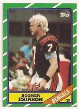 1986 Topps #255 BOOMER ESIASON RC Cincinnati Bengals NM+ Football Card Free S/H