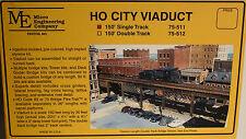 HO Micro- Engineering #75-511 HO CITY VIADUCT 150' SINGLE TRACK