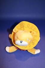 "Ikea Stuffed Animal Barnslig Lejon LION CUB 8"" Yellow Plush Crinkle Soft Toy"