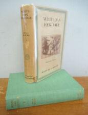 WHITEOAK HERITAGE by Mazo De La Roche, Whiteoak Chronicles 1944 in DJ