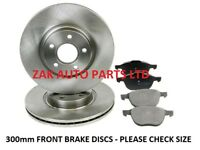 FOR FORD FOCUS MK2 CC 2.0 2.0 TDCi (2005-2011) FRONT BRAKE DISCS & PADS SET NEW