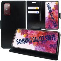 Etui Schutzhülle Portemonnaie Leder Stoßfest Samsung Galaxy S20 FE / S20 4G/5G